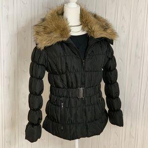 Bubble Coat with fur